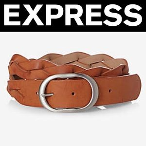 ✨NWT✨Express Braided Oval Buckle Belt